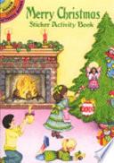 Merry Christmas Sticker Activity Book Book