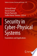 Security in Cyber Physical Systems Book