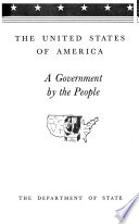 The United States of America  a Government by the People