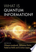 What is Quantum Information