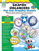 Graphic Organizers That Help Struggling Students  Grades K   3