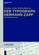 Der Typograph Hermann Zapf