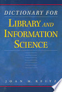 Dictionary for Library and Information Science