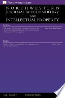 Northwestern Journal Of Technology Intellectual Property Vol 10 2