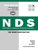 NDS, National Design Specification for Wood Construction ASD/LRFD