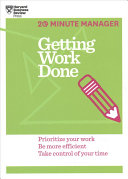 The HBR Essential 20 Minute Manager Collection