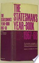 The Statesman s Year Book 1967 68