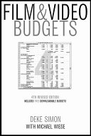 Film   Video Budgets Book