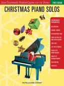 Christmas Piano Solos - First Grade