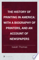 The History Of Printing In America