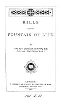 Pdf Rills from the fountain of life