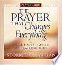 The Prayer That Changes Everything Prayer Cards