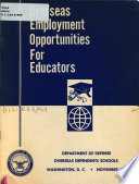 Overseas Employment Opportunities for Educators Book PDF