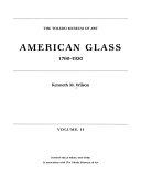 American Glass  1760 1930