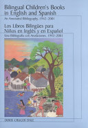 Bilingual Children s Books in English and Spanish   Los Libros Bilingues Para Ninos en Ingles Y en Espanol