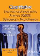 Quantitative Electroencephalographic Analysis  QEEG  Databases for Neurotherapy