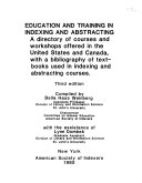 Education and Training in Indexing and Abstracting