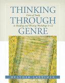 Thinking Through Genre Book PDF