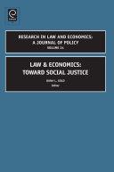 Pdf Law and Economics Telecharger