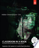 Adobe Dreamweaver CS6  : Classroom in a Book September 2012 Update for Creative Cloud Members : the Official Training Workbook from Adobe Systems