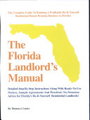 The Florida Landlord's Manual