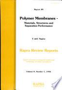 Polymer Membranes