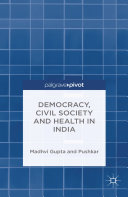 Pdf Democracy, Civil Society and Health in India Telecharger