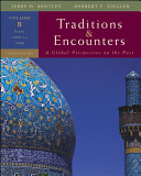 Traditions   Encounters  Volume B  From 1000 to 1800 Book