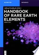 Handbook of Rare Earth Elements