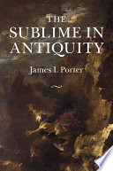 Read Online The Sublime in Antiquity For Free