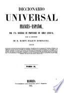 Diccionario universal france s-espan ol: France s-espan ol