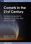 Comets In The 21st Century Book PDF