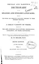 Neuman and Barettis Dictionary of the Spanish and English Languages