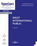 Pdf Droit international public - 12e ed. Telecharger
