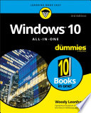 Windows 10 All in One For Dummies Book