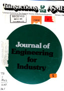 Journal of Engineering for Industry