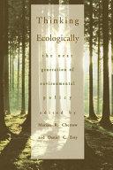 Thinking Ecologically