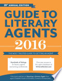 Guide To Literary Agents 2016 Book PDF
