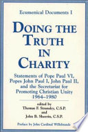 Doing The Truth In Charity Book PDF