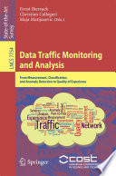 Data Traffic Monitoring and Analysis Book
