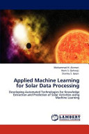 Applied MacHine Learning for Solar Data Processing