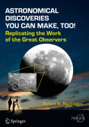 Astronomical Discoveries You Can Make  Too