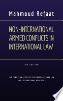 Non International Armed Conflicts in International Law