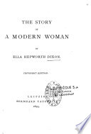 The Story of a Modern Woman