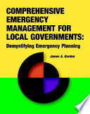 Comprehensive Emergency Management for Local Governments