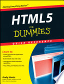 List of Dummies Html5 E-book