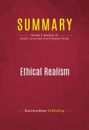 Summary  Ethical Realism
