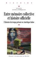 Entre mémoire collective et histoire officielle Pdf/ePub eBook