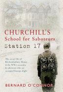 Pdf Churchill's School for Saboteurs Telecharger