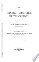 On Indirect Discourse in Thucydides